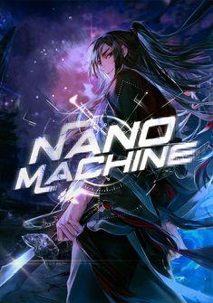 Capa da novel Nano Machine