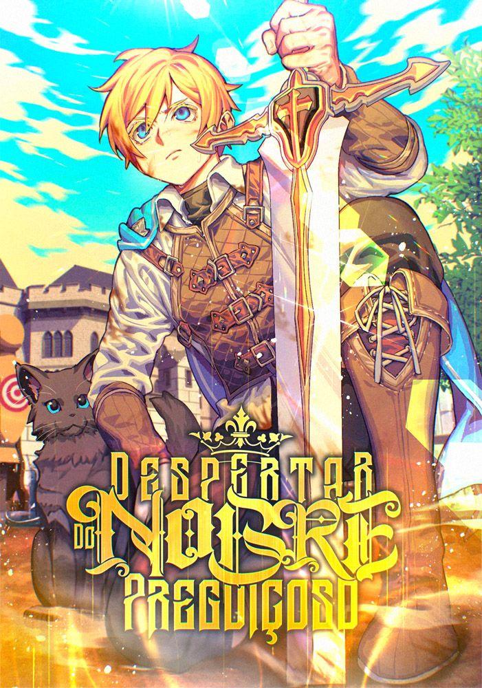 Capa da novel Despertar do Nobre Preguiçoso