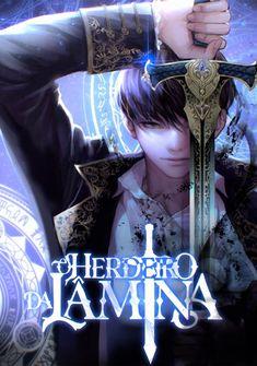 Capa da novel O Herdeiro da Lâmina