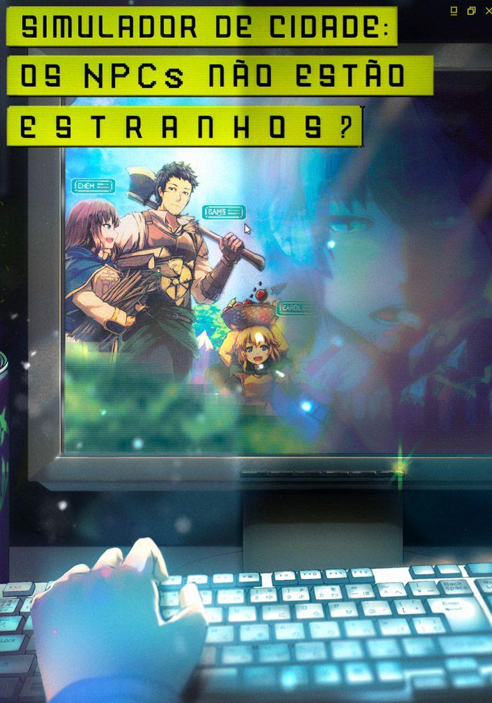 Capa da novel Simulador de Cidade: Os NPCs não estão estranhos?