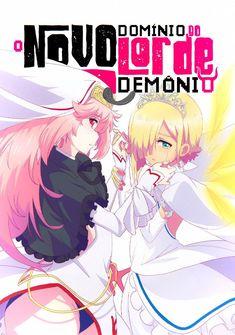Capa da novel O Novo Domínio do Lorde Demônio