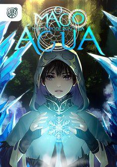 Capa da novel O Mago Mais Poderoso da Água