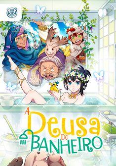 Capa da novel A Deusa do Banheiro