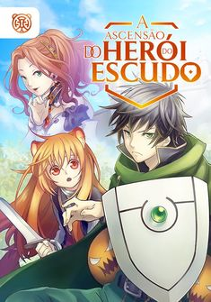 Capa da novel A Ascensão do Herói do Escudo