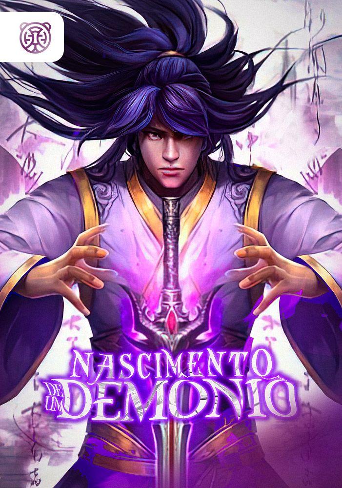 Capa da novel Nascimento de um Demônio