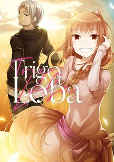 Capa da novel Trigo e Loba
