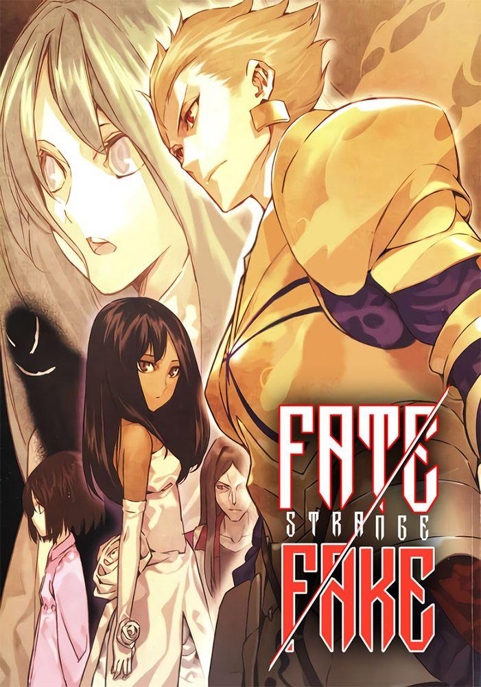 Capa de  Fate/strange Fake