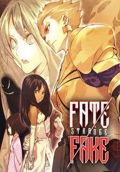 Capa da novel  Fate/strange Fake