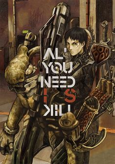 Capa da novel All You Need Is Kill
