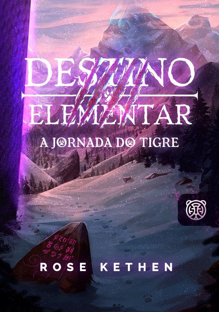 Capa da novel Destino Elementar