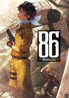 Capa da novel 86 ―Oitenta e Seis―