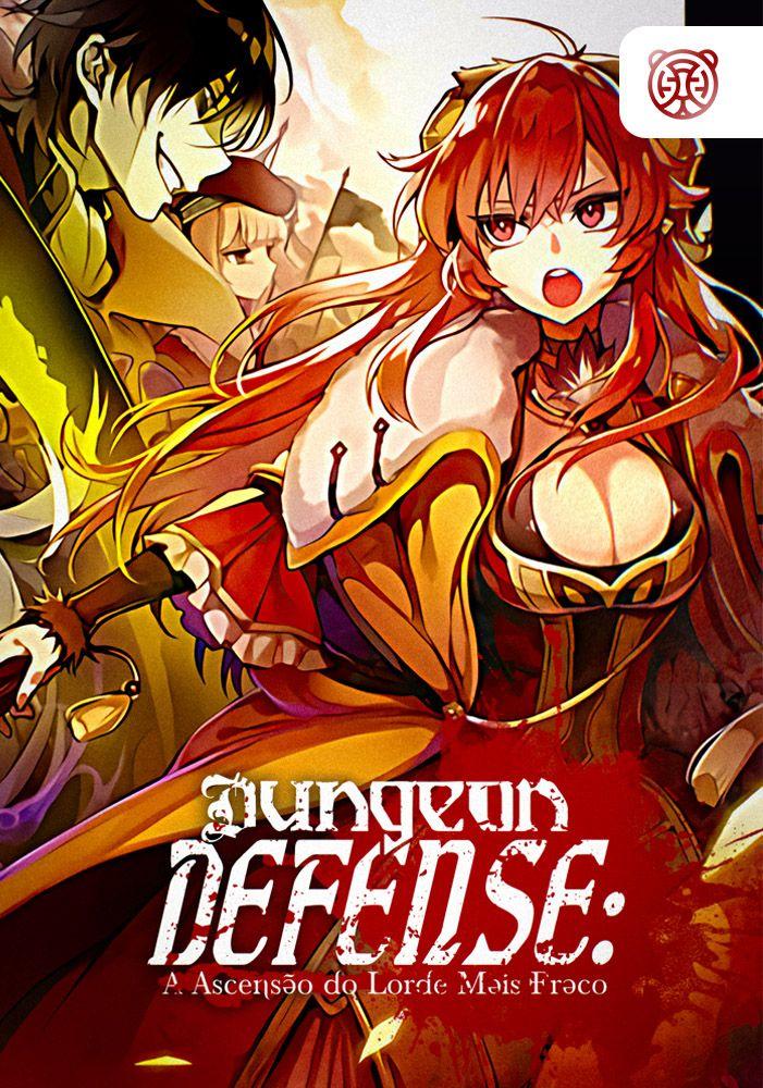 Capa de Dungeon Defense: A Ascensão do Lorde Mais Fraco