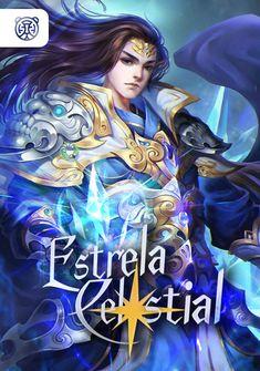 Capa da novel Estrela Celestial