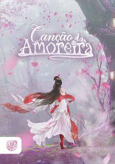 Capa da novel Canção da Amoreira