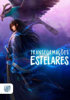 Capa da novel Transformações Estelares