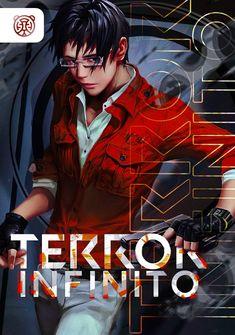 Capa da novel Terror Infinito