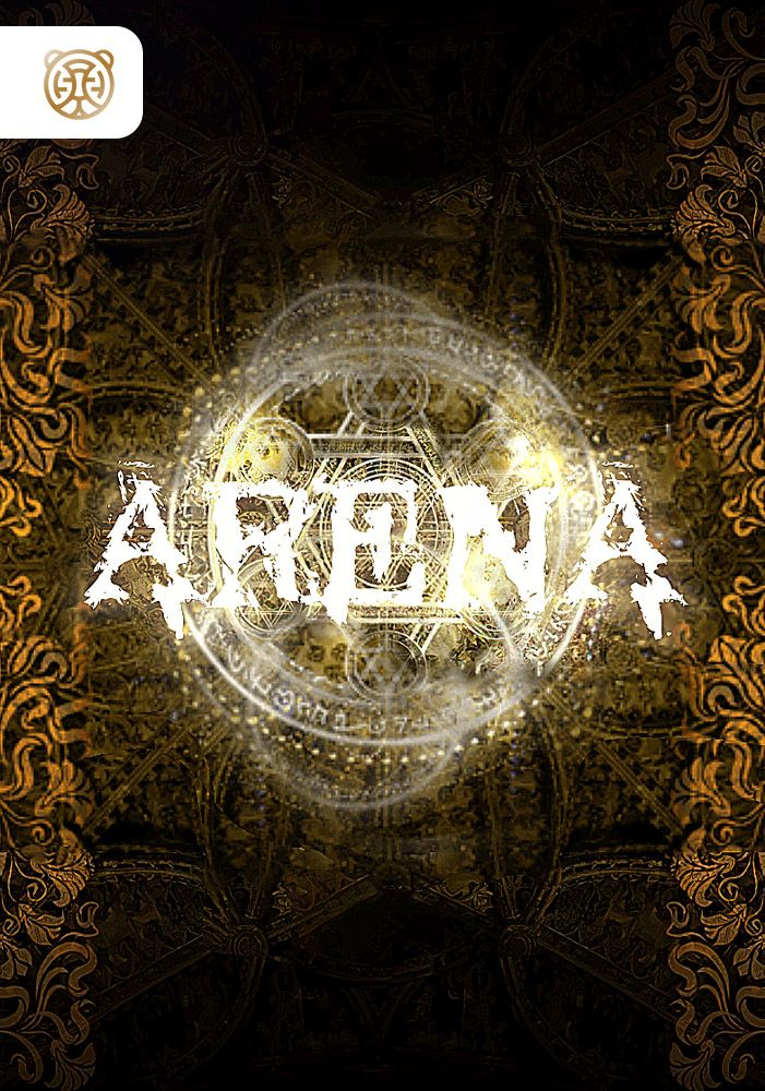 Capa da novel Arena