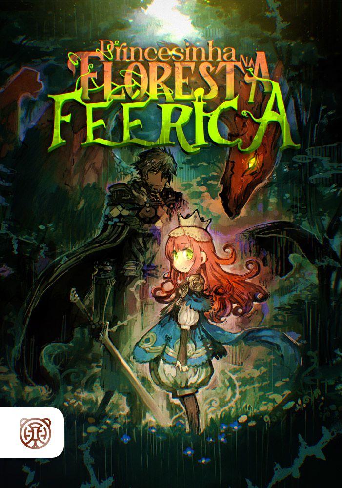 Capa da novel Princesinha na Floresta Feérica