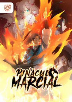 Capa da novel Pináculo Marcial