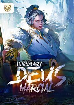 Capa da novel Inigualável Deus Marcial