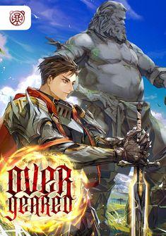 Capa da novel Overgeared