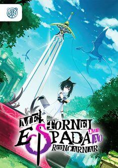 Capa da novel Me Tornei uma Espada ao Reencarnar