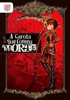 Capa da novel A Garota que Comeu a Morte