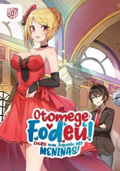 Capa da novel Otomege: Fodeu! Entrei num Joguinho pra Meninas!