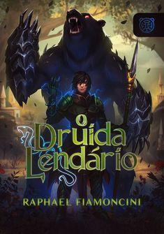 Capa da novel O Druida Lendário