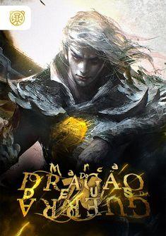 Capa da novel Marca do Dragão do Deus da Guerra