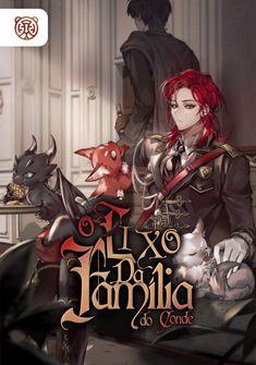 Capa da novel O Lixo da Família do Conde