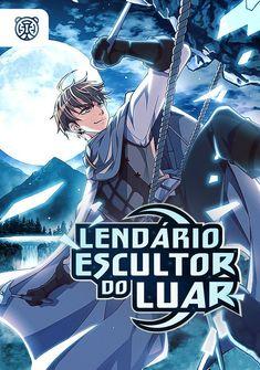 Capa da novel Lendário Escultor do Luar
