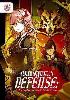 Capa da novel Dungeon Defense: A Ascensão do Lorde Mais Fraco