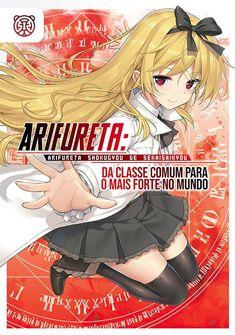Capa da novel Arifureta: Da Classe Comum para o Mais Forte no Mundo