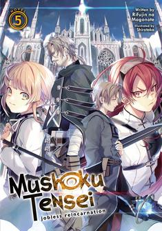 Capa da novel Mushoku Tensei Manga (SeikouScans)