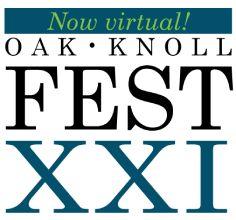 Oak Knoll Fest XXI virtual book fair