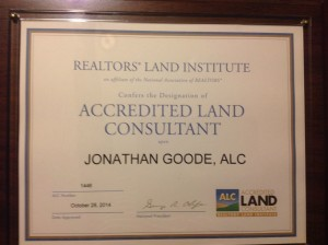 Jonathan Goode Accredited Land Consultant, ALC in Alabama