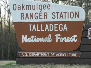 Land for the Talladega National Forest in Alabama