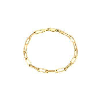 Large Paper Clip Chain Bracelet