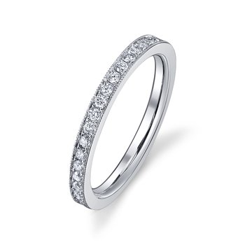 Micropave Beadset Eternity Band