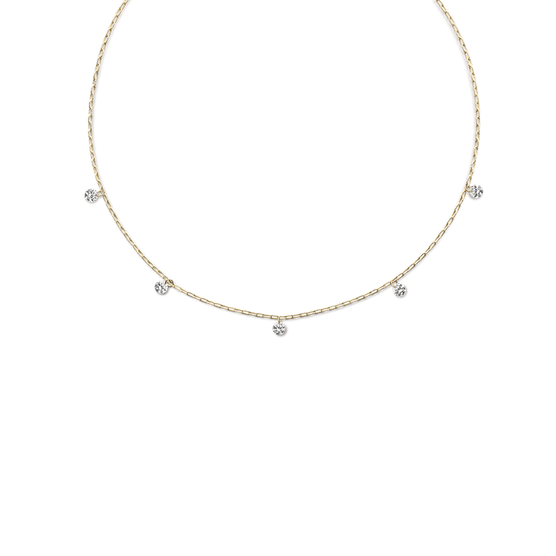 ILA Solar System Diamond Necklace