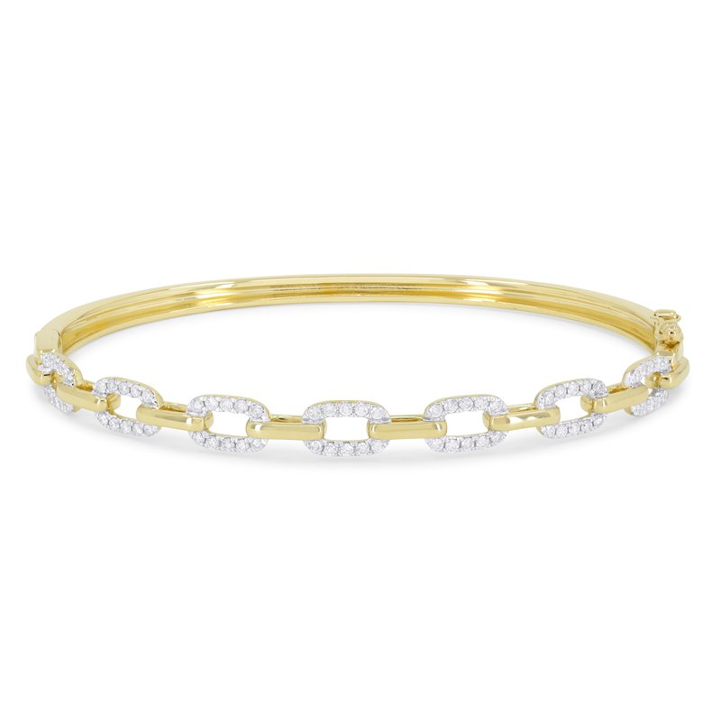 Crafted for Henry C. Reid Open Link Bangle
