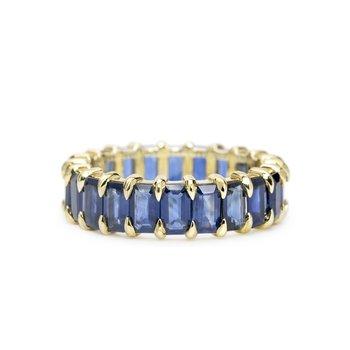 Harper Sapphire Eternity Ring