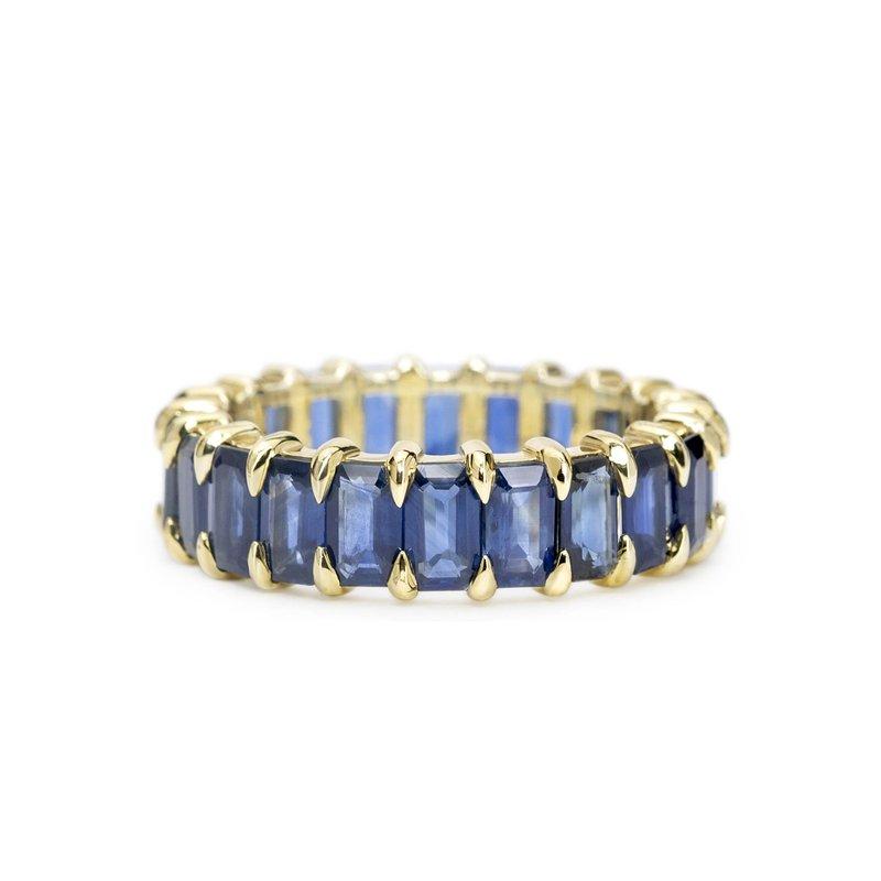 ILA Harper Sapphire Eternity Ring