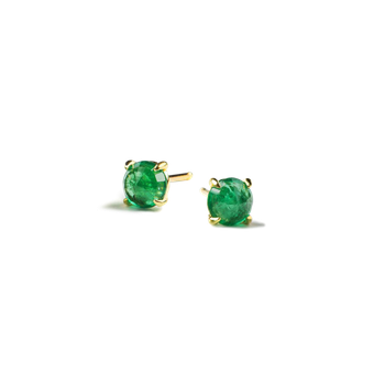 Clarence Emerald Studs