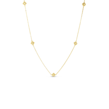Palazzo Ducale Tiny Satin 5 Station Necklace