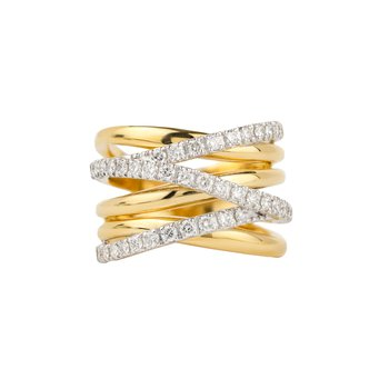 Six Row Crossover Ring