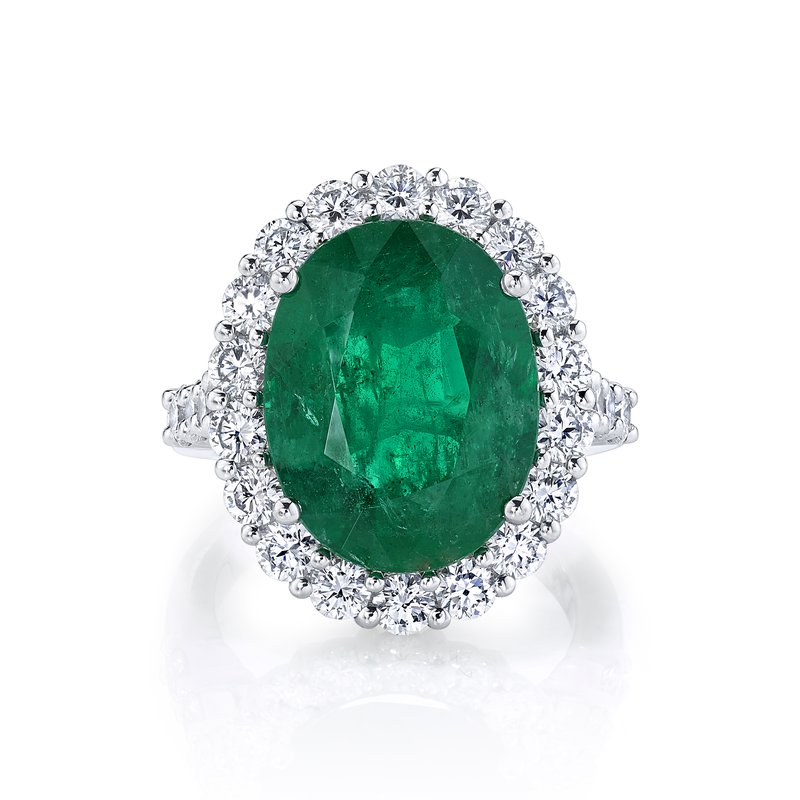 Crafted for Henry C. Reid Elegant Emerald Ring