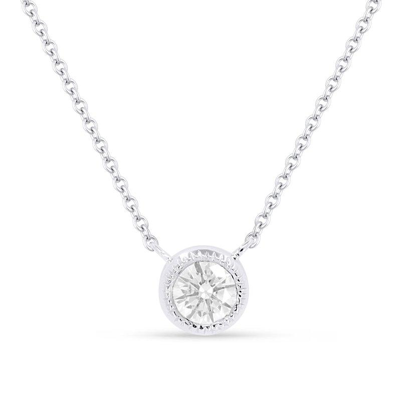 Crafted for Henry C. Reid Diamond Pendant