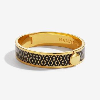 Parterre Black & Gold Bangle